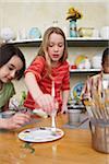 Children in Pottery Studio