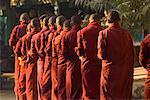 Buddhist Monks, Bagan, Myanmar