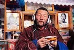 Portrait of Nomadic Man, Mongolia