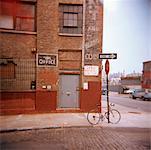 Street Corner, Brooklyn, New York, USA