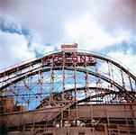 Cyclone Roller-coaster, Coney Island, New York, USA