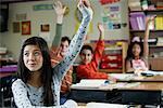 Enfants dans la salle de classe