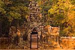 Entrée, Temple de Banteay Kdei, Siem Reap, Cambodge