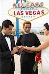Wedding Ceremony, Las Vegas, Nevada, USA