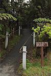 Crater Rim Trail, Hawaï volcans National Park, Hawaii, Etats-Unis