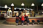 Women in Retro Diner