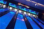 Retro Bowling Alley