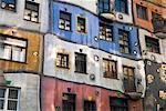 Hundertwasser House, Vienna, Austria