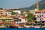 Buildings at the waterfront, Alanya, Turkey