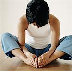 Portrait of Woman Practicing Yoga