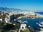 Le port de Kyrenia Chypre