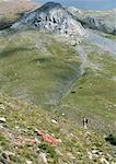 Spain, Catalonia, hiker