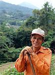 Porträt der Landarbeiter, Taipei, Taiwan
