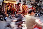Scène de rue occupée, Hanoi, Vietnam