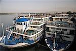 Cruise Ships, Kom Ombo, Egypt