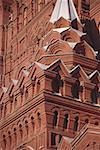 Low Angle View eines komplizierten Gebäudes