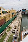 Écluse de Gatun, Canal de Panama, Panama