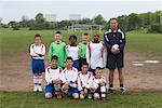 Portrait of Soccer Team