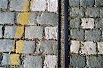Track in Cobblestone