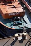 Boot Dock verankert
