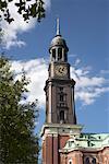 Église de St. Michaelis, Hambourg, Allemagne