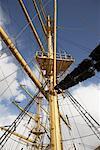 Sailboat Mast, Hamburg, Germany