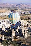 Hot Air Balloon, Goreme Valley, Cappadoccia, Turkey