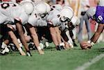 American football line of scrimmage (Digital Enhancement)