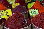 Épices à vendre, Istanbul, Turquie