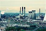Grangemouth Petrochemical Plant West Lothian, Scotland, UK