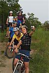 Portrait of Mountain Bikers