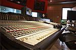 Table de mixage en Studio d'enregistrement