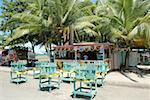 Costa Rica, Puerto Limon, during carnival, refreshment bar