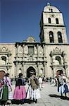 Bolivia, La Paz, San Francisco basilica