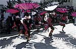 Bolivia, Quillacollo, Virgin of Urcupina festival, dance of Beni