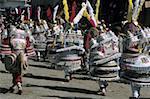 Bolivia, Quillacollo, Virgin of Urcupina festival, Morenada de Oruro