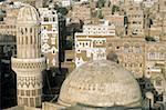 Yemen, Sanaa, Qubbat Talha mosque