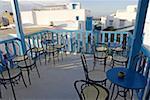 Terrasse de café de Tunisie, Sidi Bou Said,