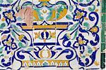 Tunisia, Kairouan, mausoleum of Abou Zamaa el Balaoui, ceramic
