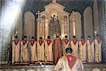 Cathédrale d'Arménie, Etchmidzine, masse célébrée selon le Rite arménien