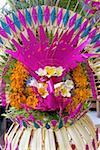 Indonésie, Bali, Sayan, mariage, composition florale