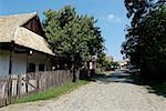 Hungary, Hollokö, traditional village