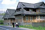 Poland, near Zakopane, Chocholow