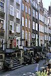 Poland, Gdansk, Mariacka Street