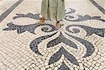 Portugal, Algarve, Loule, pavé de rue