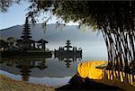 Indonesia, Bali, Bedugul, Ulu Danu Temple
