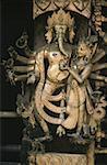 Nepal, Patan, Royal Palace, statue of Ganesh