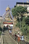 Nepal, Swayambhunath, stupa
