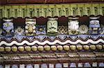 Nepal, Changu, Changu Narayan Temple, architecture detail