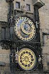 Czech Republic, Prague, city hall, Astronomical clock